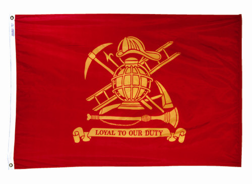 Fireman Flag - 3'x5' - For Outdoor Use