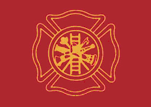 Firefighters' Flag - 3'x5' - For Outdoor Use