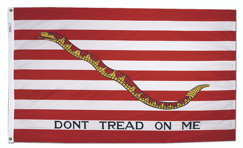 First Navy Jack Flag - 3' x 5'