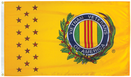Vietnam Veterans Flag - 3'x5' - For Outdoor Use
