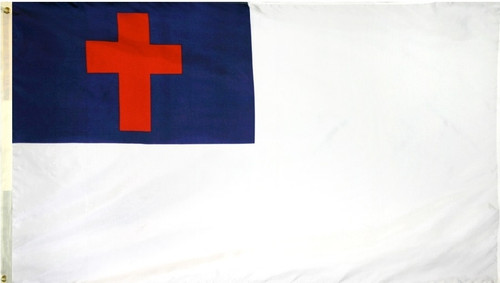 Christian Flag - For Outdoor Use