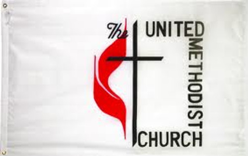 United Methodist Flag - For Outdoor Use