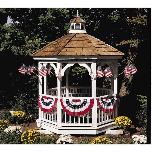 "18x36"" Small Fan on Gazebo"