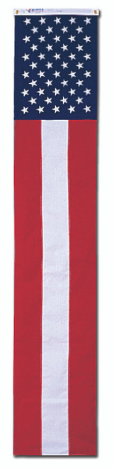 Fifty Stars Long Pulldown Flag - Nylon