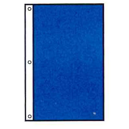 Attention Flag - Tall Rectangle Shape - Solid Color - For Outdoor Use
