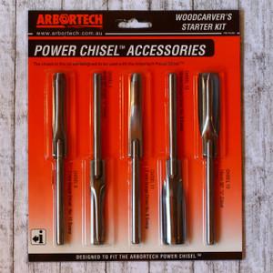 Starter Kit -con 5 scalpelli per Power Chisel