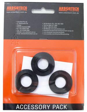 Pacchetto di 3 Rondelle  Spessori in Nylon  per Industrial Woodcarver