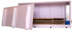 Kit Essicatore sarcofago per Sauno 1,7m3