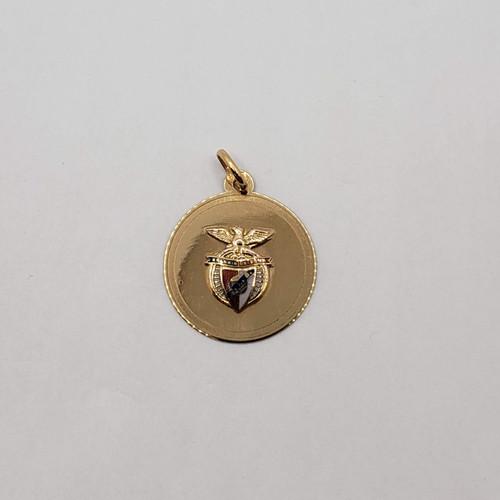 19.2k Portuguese gold Benfica medal