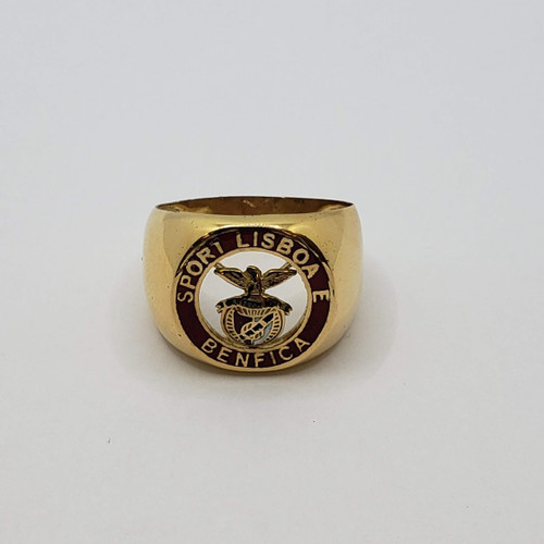 19.2k Portuguese  Gold Portugal Benfica ring