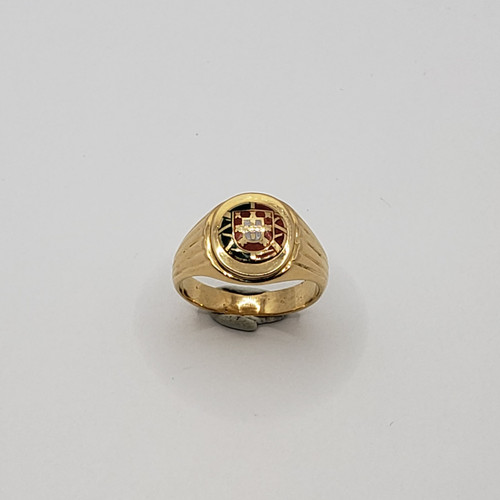 19.2k Portuguese  Gold Portugal Escudo ring