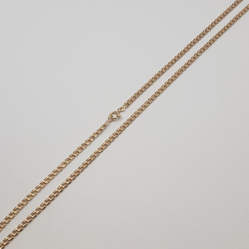 19.2k Portuguese Gold Men's Friso Link Chain