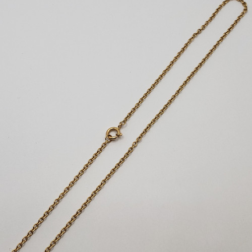 19.2k Portuguese Gold Cable Link Chain