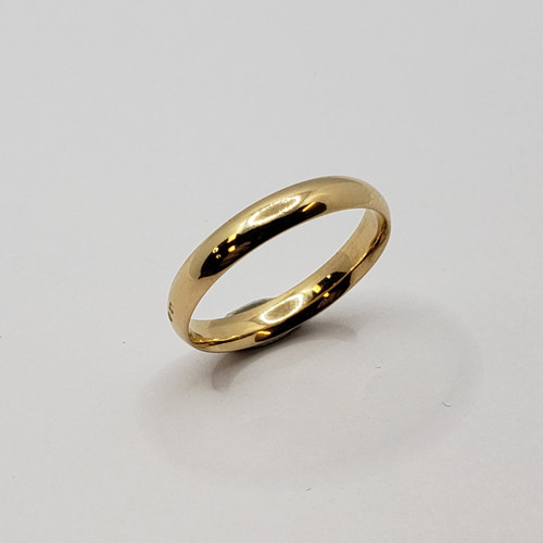 19.2k Portuguese Gold 4mm Wedding Band