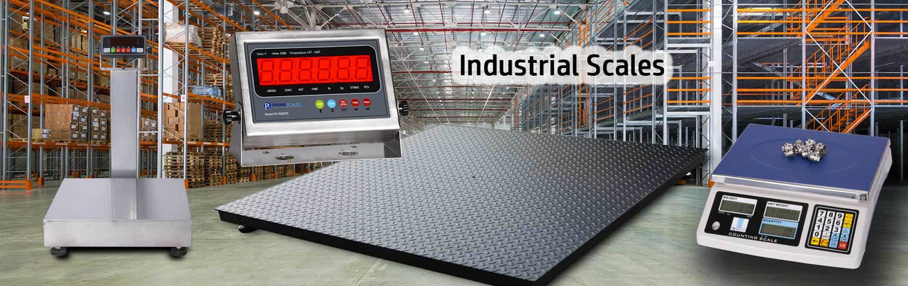 Prime Scales 10000lb Industrial Pallet Scale//Floor Scale 40x40 Size with Indicator//Industrial Grade Durability//Calibration Certification//No More ReWeigh Bills 24-7 Support//Free Return