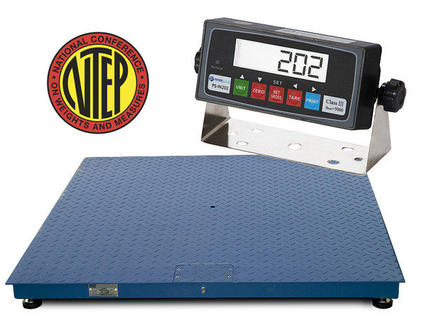 CS2010 2500LB / 0.5LB 3'x3' Legal For Trade Floor Scale Free shipping