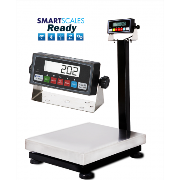 "Prime PS-B600 12""x16"" Bench Scale with Stainless Steel Platter Free Shipping"