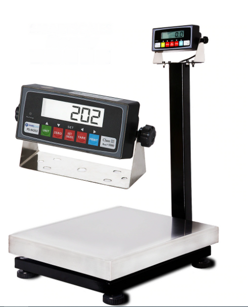 """Prime PS-B800 16""""x20"""" Bench Scale with Stainless Steel Platter, PS-IN202"""