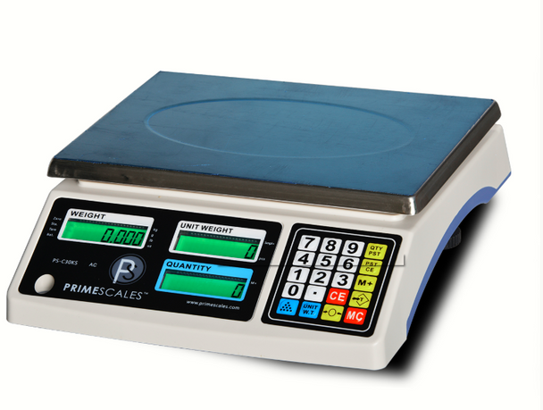 PS-C30KS Large Platform Precision Counting Scale  with Multiple Weighing Units