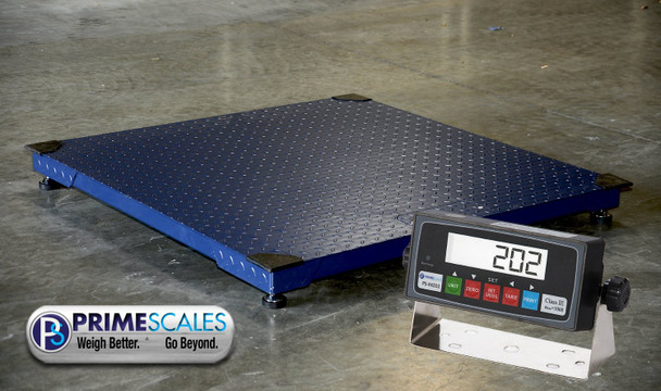 Prime 10000F 40x40 Floor Scale & Indicator Package | Industrial Scales