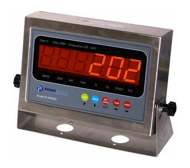 PS-IN202SS NTEP Legal For Trade Indicator compatible with most pallet  Floor Scales