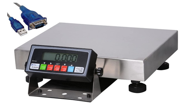 Prime Scales PS-B130 130x0.005lb Extremely Accurate Bench Scale   Shipping Scale  