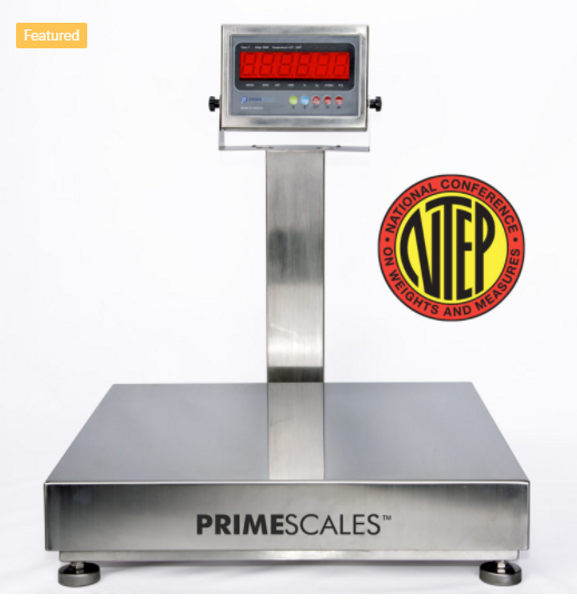 "PS-LP7611SS-18x18 500x0.1lb NTEP 18""x18"" Bench Scale Whole Stainless Steel Structure"