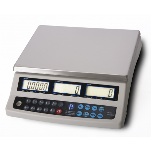 PEC-C60KDN Dual Counting Scale with RS232 Port