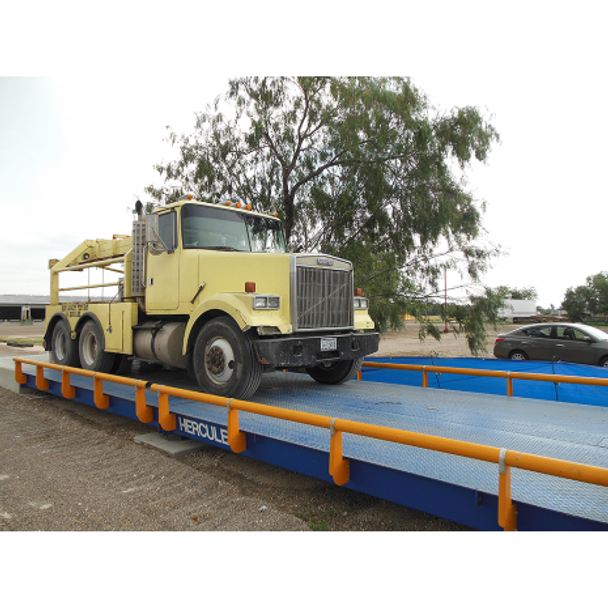 NTEP Approved Hercules Truck Scale 80 x 10 ft 200,000 lb