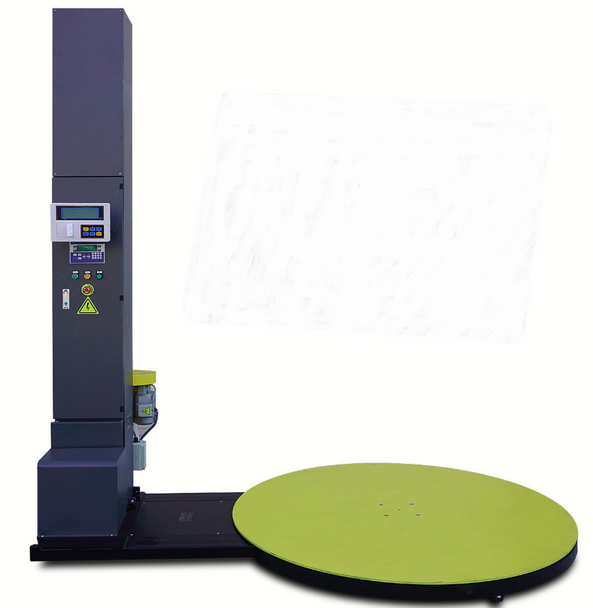 WM-K120 5000lb Electric Stretch Wrap / Pallet Wrapping / Wrapper Machine w/ Built-in Scale and Label Printer