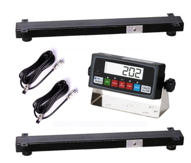 "Prime PS-WB24 24"" x 4"" x 2.5"" Weigh Beam / Bar: Capacity 5000 LBS, Accuracy 1 LBS"
