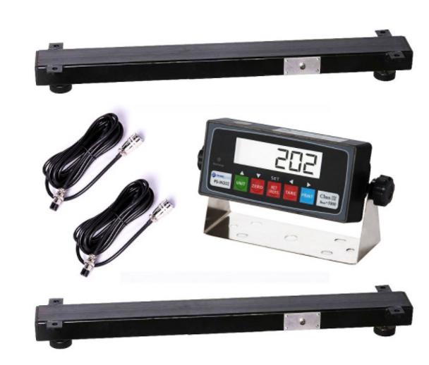 "Prime PS-WB24 24"" x 4"" x 2.5"" Weigh Beam / Bar: Capacity 5000 LBS, Accuracy 1 LBS"