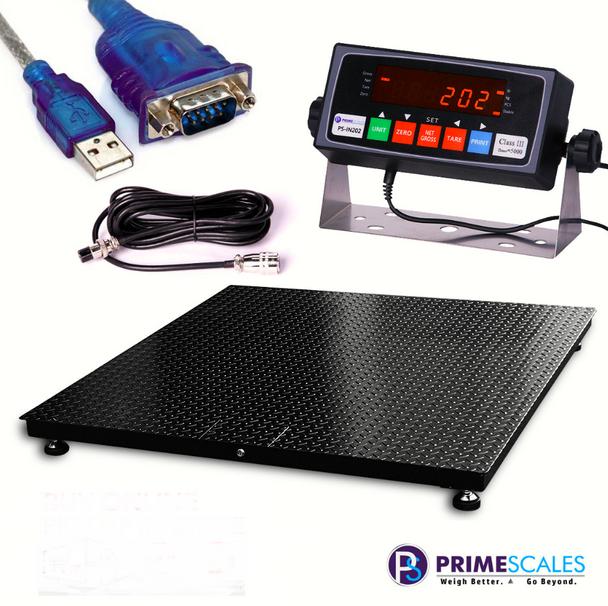 Prime Scales Pallet Floor scale #floorscale #palletscale
