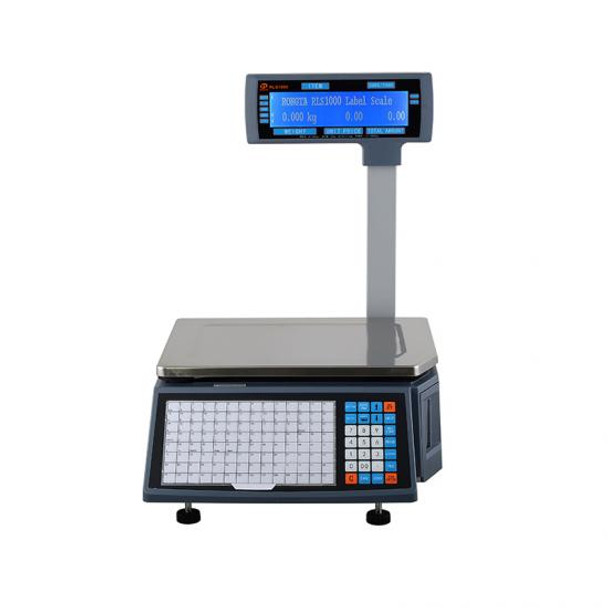 RLS1000/RLS1100 NTEP CERTIFIED LEGAL FOR TRADE Bar code Label Scale
