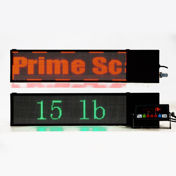 Super Bright Programmable Dot Matrix LED Remote Display Score Board
