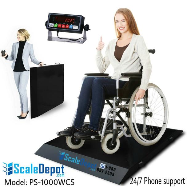 PS-1000WCS  Wheelchair Scale #wheelchair #wheelchairscale #wheelchairs #scaledepot #primestation #primescales #primescale