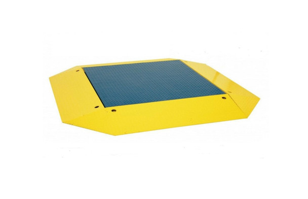 """Prime Scales 60"""" x 60"""" (5'x5') Heavy duty Pallet Floor Scale   Pancake Scale  with 360 Degree ramps"""