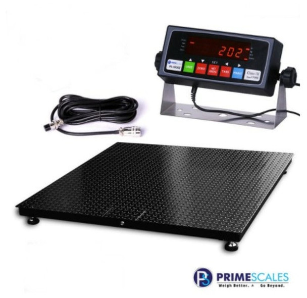 "Prime Scales USA Made 120"" x 120"" (10'x10') Heavy duty Pallet Floor Scale 