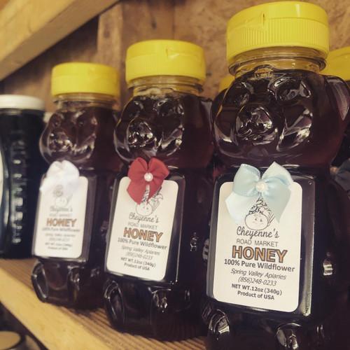 Wildflower Honey Bear- 12 Oz.