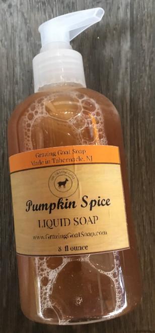 Liquid Soap: Pumpkin Spice