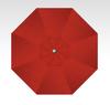Treasure Garden 11' Auto Tilt in Sunbrella Jockey Red -Double  Wind Vent-Anthracite Finish