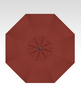 Treasure Garden Starlight 9' Collar Tilt in Sunbrella in Henna  -Single Wind Vent-Black Finish