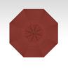 Treasure Garden Quick Ship 11' Octagon Cantilever In Sunbrella Henna-Double Wind Vent w/Bronze Finish