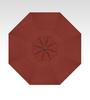Treasure Garden Quick Ship 13' Octagon Cantilever In Sunbrella Henna-Double Wind Vent w/Bronze Finish