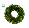 "17"" Preserved Boxwood Wreath Pair"