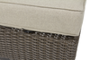 Brookstone Outdoor Ottoman w/ Cushion