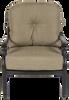 Castle Rock Outdoor Club Chair w/ Cushion Set of 2