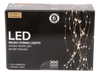 "Designers Excellence 300 Micro LED 39"" Silver Wire Light Cascade"