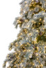 7.5' Forever Tree Snowy Aspen Fir with Cones and Remote