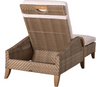Lane Venture Edgewood Outdoor Teak and Synthetic Wicker Chaise